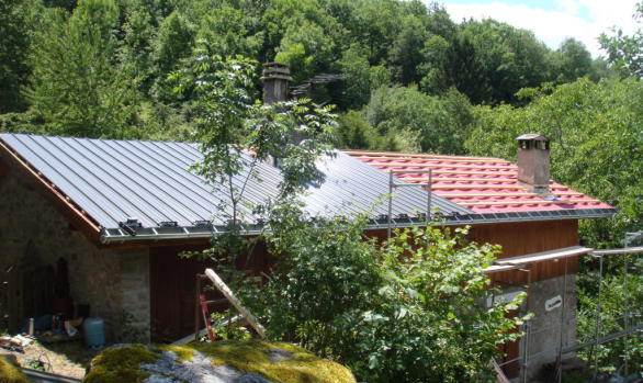 Building in Courchevel Chalet Roof Replacement