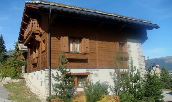 Chalet External Renovation Courchevel