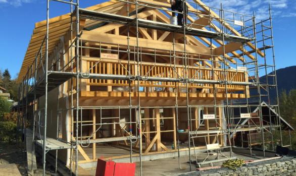 Construction Meribel - New Build Chalet