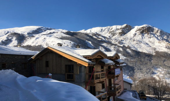 St Martin de Belleville Chalet Construction - New Build Chalets