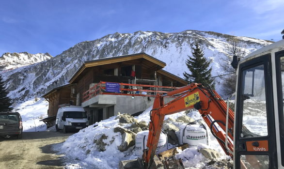 Tignes Chalet Extension & Renovation