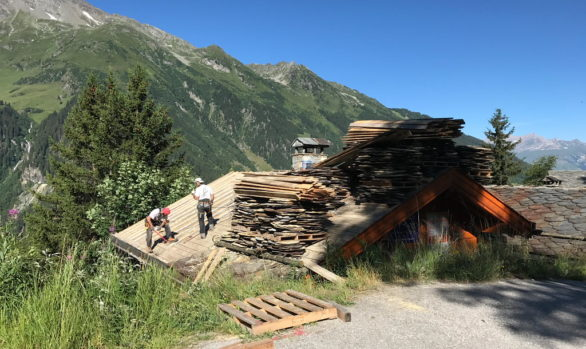 Chalet Construction - Ste Foy Tarentaise
