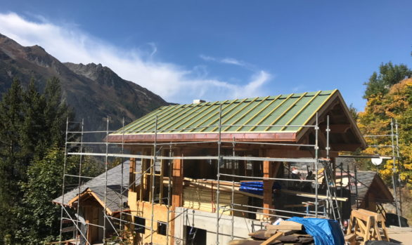 Ste Foy Chalet Construction