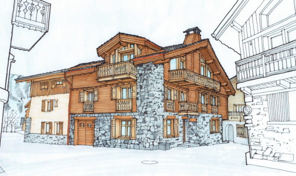 Courchevel Chalet Development